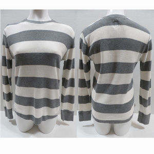 Mossimo top Small Athletic Fit striped waffle knit